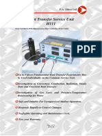 H111 Heat Transfer Service Unit