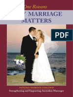 21 Reasons Why Marriage Matters