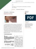 Cariótippo_ Alterações e Síndromes