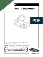 Invacare Homefill Compressor Manual