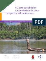 Marañon Costo Social Impactos Proyectos Hidroelectricos