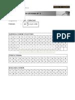 Claves Ensayo Ciencias - Química 03