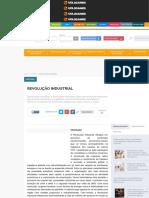 Revolução Industrial - Brasil Escola
