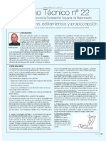 Cuaderno Tecnico Nro. 22 - Vuelta a La Calma, Estiramientos y Propiocepcion