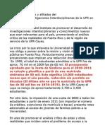 La Universidad de Puerto Rico- Clase social y acceso a la educación superior pública