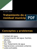 Tratamiento de Agua Residual Municipal