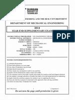 2014 Year End Supp Qp Mechanical Engineering Design 3 Meds301