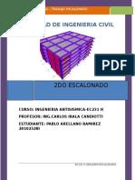 2do Escalonado Ingenieria Antisismica, Universidad Nacional de Ingenieria