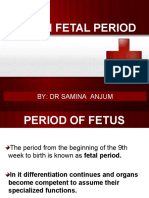 Human Fetal Period-A General Survey