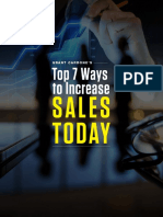 Top 7 Ways to Increase Sales Today