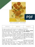 Analisis de Los Girasoles de Van Gogh
