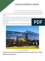 El secreto de Google para trabajar en equipo eficazmente.pdf