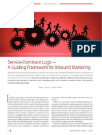 8.Lusch Vargo - SDL a Guiding Framework for Inbound Marketing