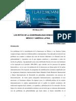 Los Retos de La Gobernabilidad Democrática en Mexico y America Latina.