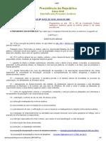 L10257 - Estatuto Das Cidades