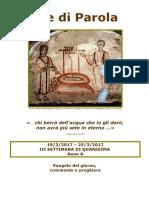 Sete di Parola -3a settimana Quaresima - Anno A.doc
