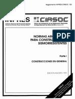 Reglamento Inpres Cirsoc 103 TomoI
