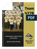 2016-17 sponsorship packet