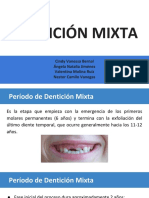 Dentición Mixta ✌?️