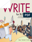 WriteForBusiness Sample