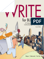 WriteForBusiness Sample