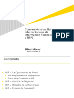 Conversion a Ifrs e&f Fg