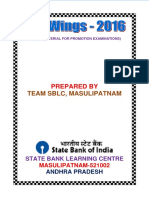 WINGS 2016 - SBLC Masulipatnam