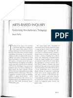 Finley Arts-Based Inquiry