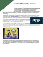 Empresa De Limpieza Madrid Y Comunidad, Servicios Generales