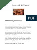 Autentica Carne Asada Del Norte de Mexico