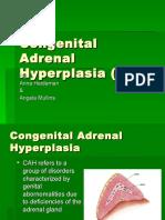 Congenital Adrenal Hyperplasia (CAH)[1]