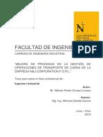 Tesis Upn - Mejora de Procesos - Tesis Modelo - Michael Zelada 1