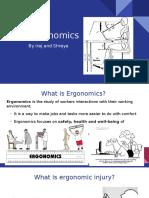 ergonomics presentation