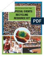 Special Event Recycling Resource Kit