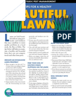 TIPS FOR A HEALTHY LESS TOXIC BEAUTIFUL LAWN