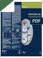 Paracetamol FyD Con Cambios