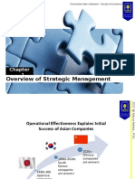 Chapter 1-Overview of Strategic Management
