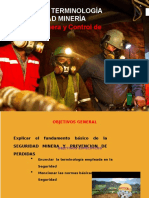 Principios, Terminologia y Legislacion de Seguridad en Mineria