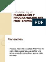 Sesion 6 Planeacion y Programacion Del Mantenimiento