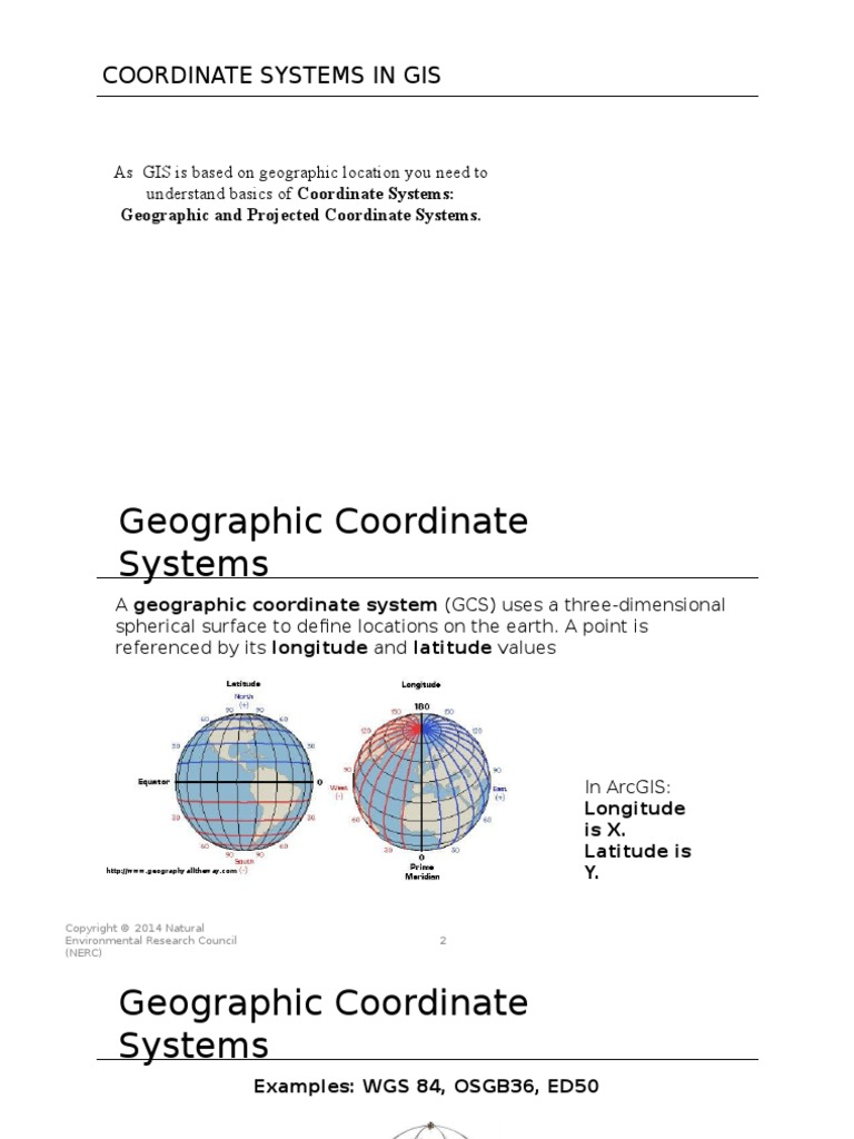 01c-Coordinate Systems in GIS | Latitude | Geomatics