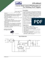 Oscilador de Fuente TV LCD STR-A6069H