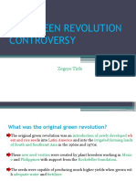 The Green Revolution Controversy by Zegeye Tirfe