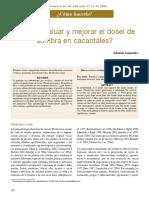 Como Analizar y Mejorar La Sombra en Los Cacaotales II - Eduard