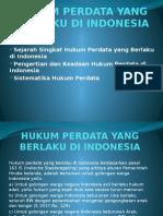 Hukum Perdata Yang Berlaku Di Indonesia