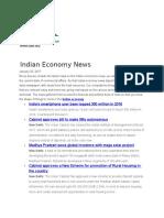 Indian Economy News