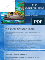 The Unselfish Gene