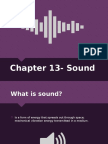 chapter 13- sound