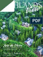 Highlands View Magazine Vol. 22, No. 1-2017