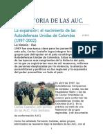 La Historia de Las Auc. 164 Paginas-1