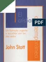 John Stott El Cristiano Contemporaneo